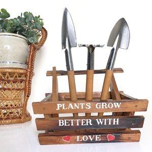 Vintage Indoor Gardening Miniature Tool Set